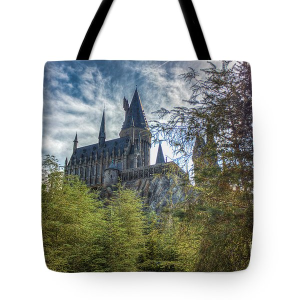 Hogwarts Castle Tote Bag