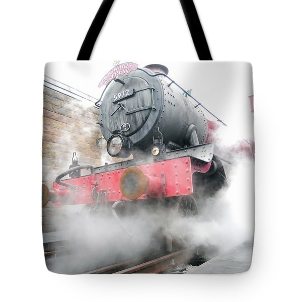 Tote Bag featuring the photograph Hogwarts Express Train by Juergen Weiss