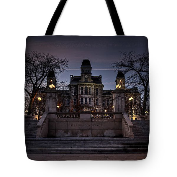 Hogwarts - Hall Of Languages Tote Bag by Everet Regal