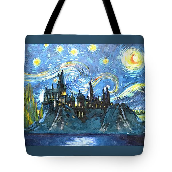 Harry Potter Starry Night Tote Bag