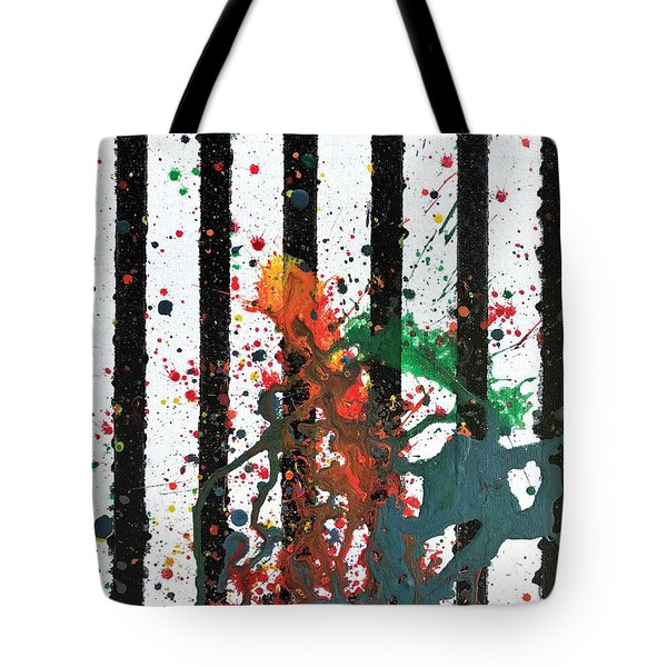 Tote Bag featuring the painting Hogwarts by Robbie Masso