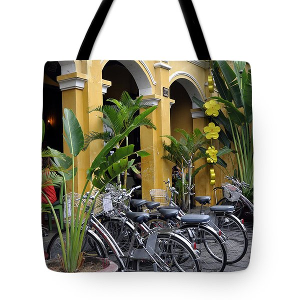 Hoi An Bicycles Tote Bag