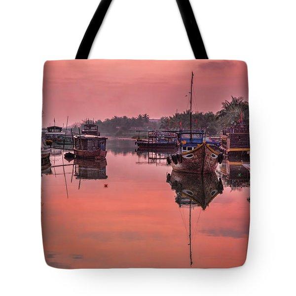 Hoi An Sunset  Tote Bag