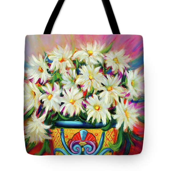 Hola Daisies Tote Bag