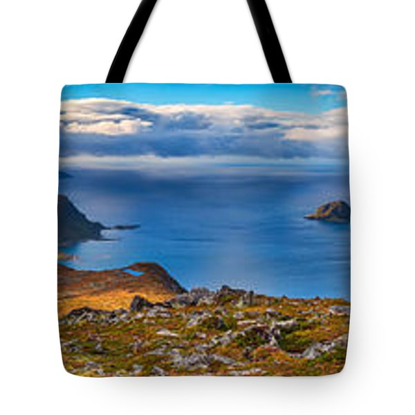 Tote Bag featuring the photograph Holandsmelen Panorama by James Billings