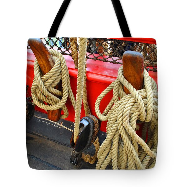 Hold It Down Tote Bag