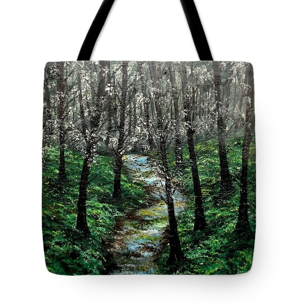Hold My Hand For Awhile Tote Bag