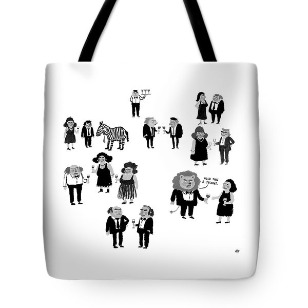 Hold This A Second Tote Bag