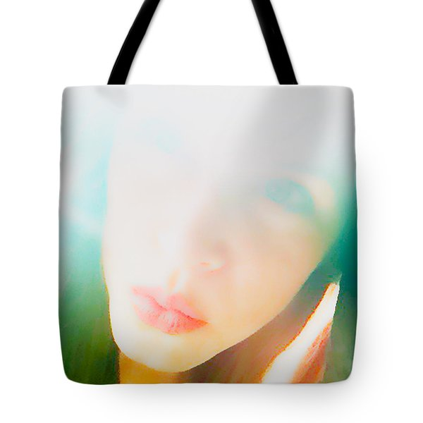 Hold Your Breath Tote Bag by Amanda Barcon