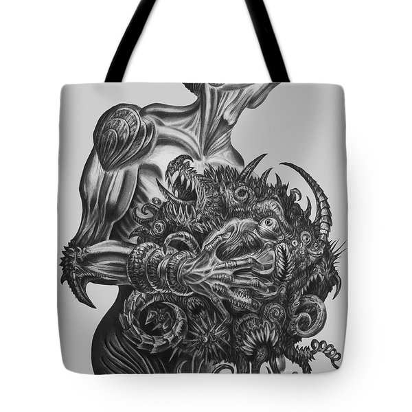 Holding A Grudge  Tote Bag by Tony Koehl