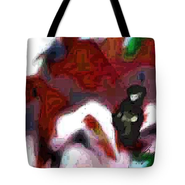 Holding Area Tote Bag
