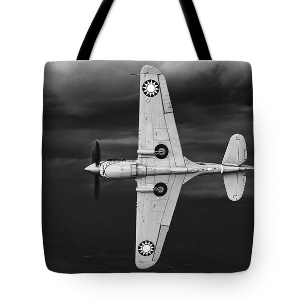 Holding Back The Storm Tote Bag