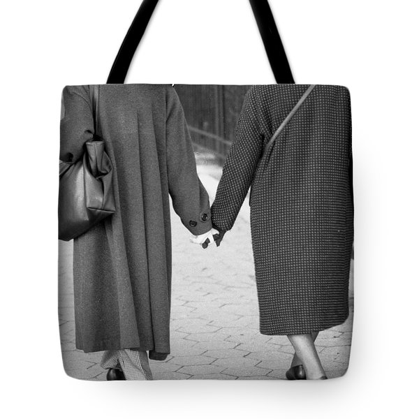 Holding Hands Friends Tote Bag