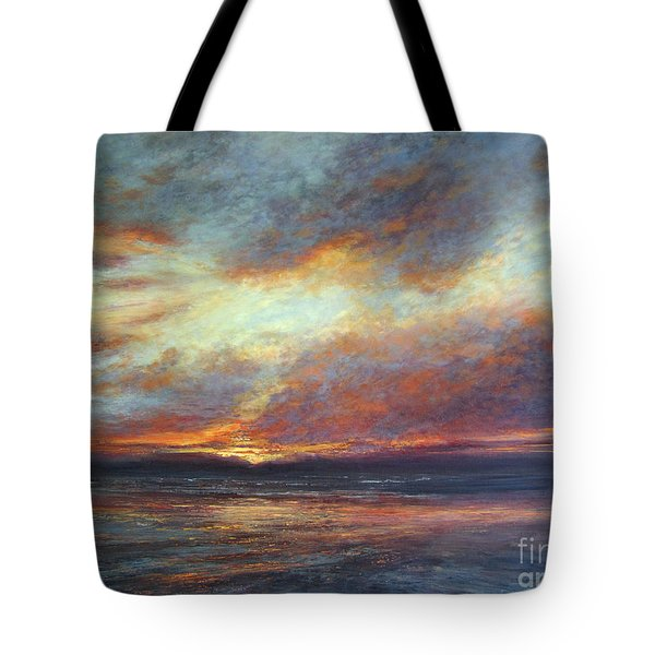 Holding On A Little Longer Tote Bag by Valerie Travers