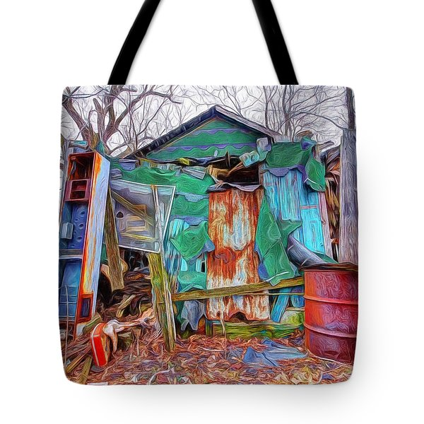 Holding On To Reality Tote Bag