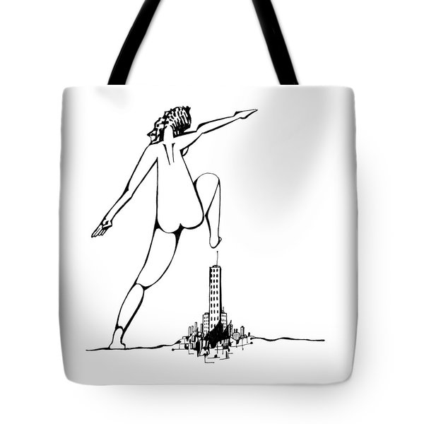 Holding Pattern Tote Bag by Keith A Link