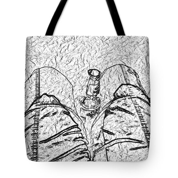 Holding The Beer Tote Bag