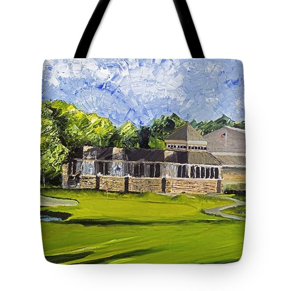 Hole 18 Jcc Tote Bag
