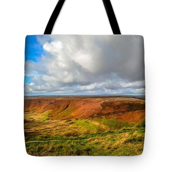Hole Of Horcum, North York Mores, Yorkshire, United Kingdom Tote Bag