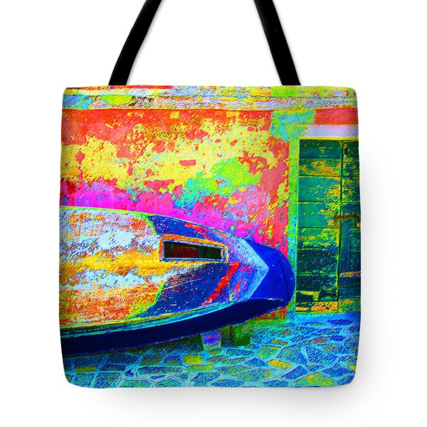 Hole In The Boat Tote Bag