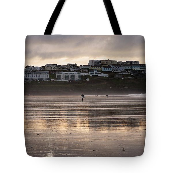 Hole In The Clouds Tote Bag by Nicholas Burningham