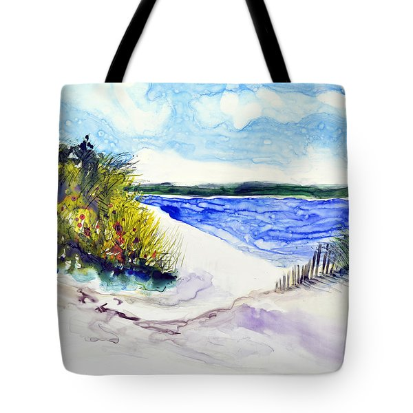 Hole In The Cove Tote Bag by Joan Hartenstein