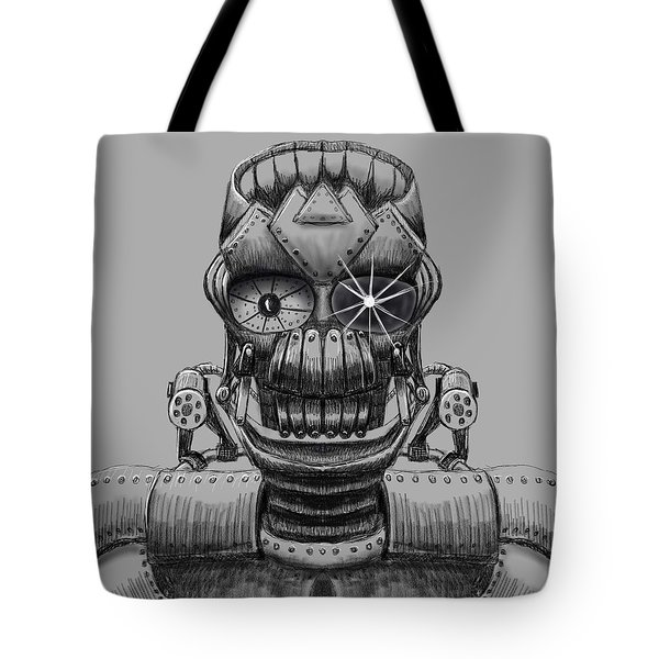 Hole Machine. Tote Bag