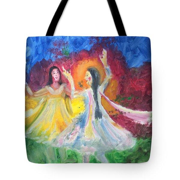 Holi-festival Of Colors Tote Bag