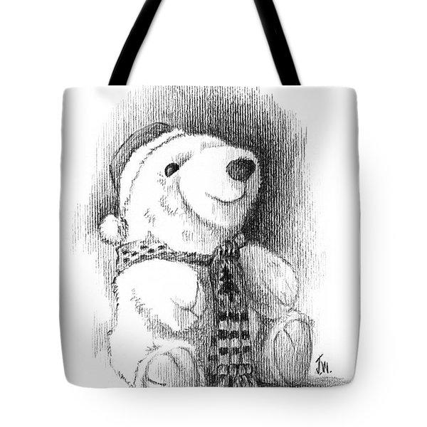 Holiday Bear Tote Bag