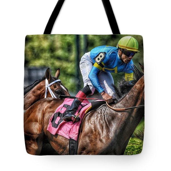 Holiday Bonus With Irad Oriz, Jr. Tote Bag