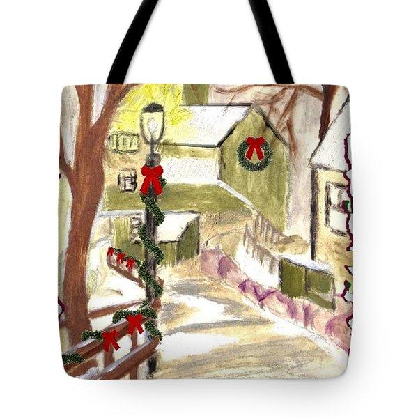 Holiday Card 01 Tote Bag