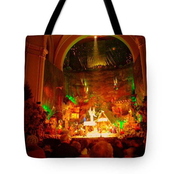 Holiday Decor In The Basilica Tote Bag