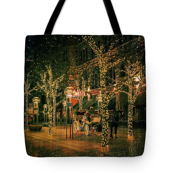 Holiday Handsome Cab Tote Bag