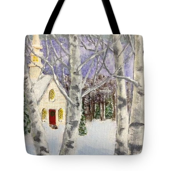 Holiday In The Country Tote Bag