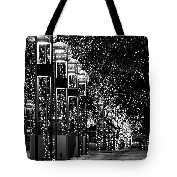 Holiday Lights - 16th Street Mall Tote Bag