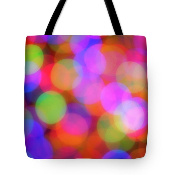 Holiday Lights Tote Bag