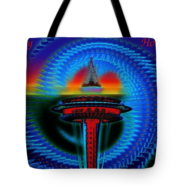 Holiday Needle 2 Tote Bag by Tim Allen