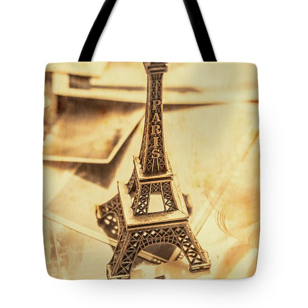 Holiday Nostalgia In Vintage France Tote Bag by Jorgo Photography - Wall Art Gallery