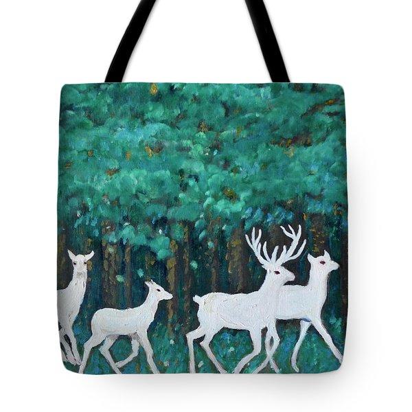 Holiday Season Dance Tote Bag