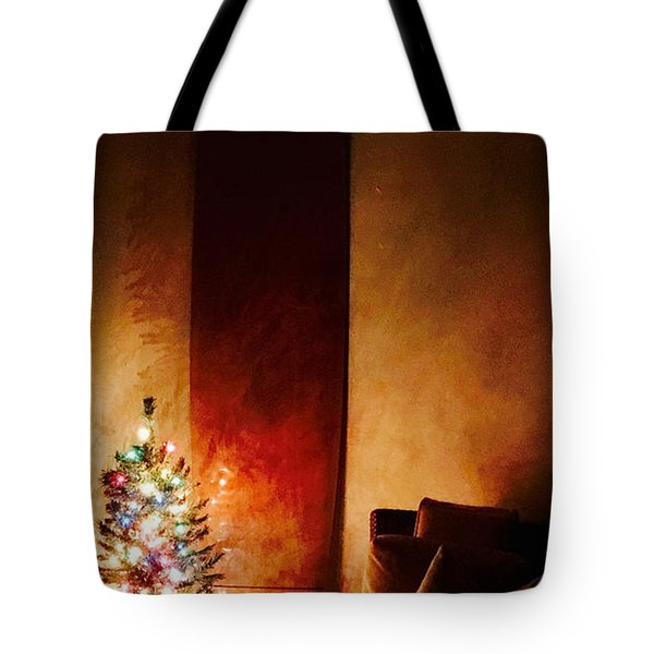 Holiday Surfboard Tote Bag