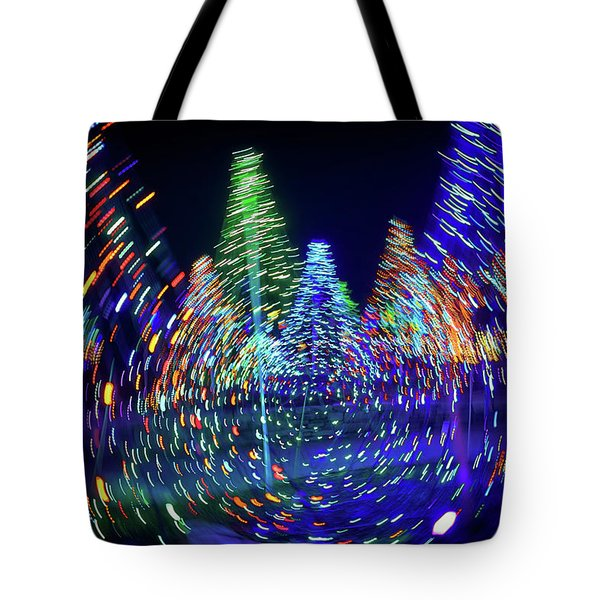 Holidays Aglow Tote Bag