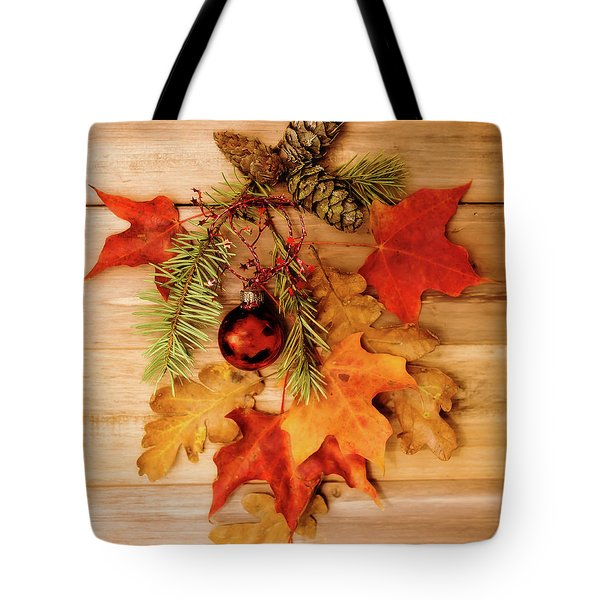 Tote Bag featuring the photograph Holidays by Rebecca Cozart
