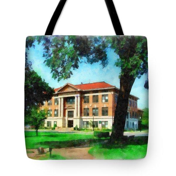 Holland City Hall Tote Bag