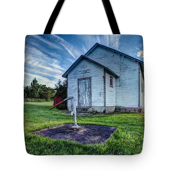 Holleford Schoolhouse Tote Bag