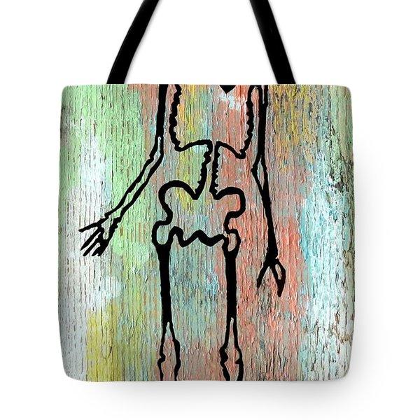 Hollow Pastels Tote Bag