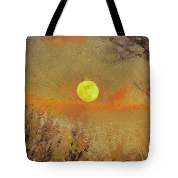 Tote Bag featuring the mixed media Hollow's Eve by Trish Tritz