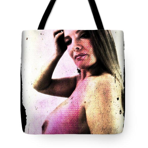 Holly 1 Tote Bag by Mark Baranowski