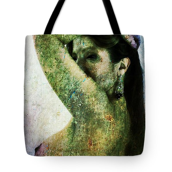 Tote Bag featuring the digital art Holly 2 by Mark Baranowski