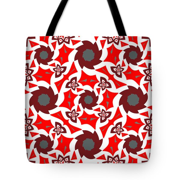 Holly Abstract Tote Bag by Jim Pavelle