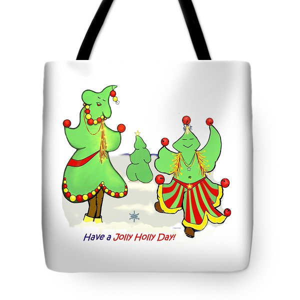 Holly Day Shirt For Children Tote Bag